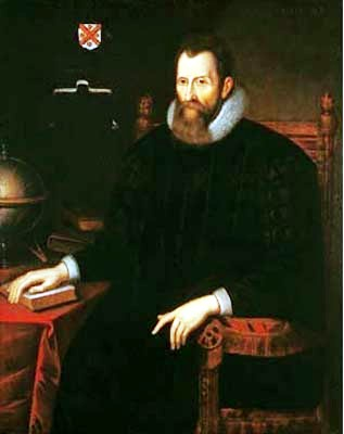 Portrait of John Napier (1550-1617)